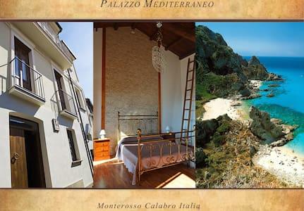 Palazzo Mediterraneo - intero palazzo - Monterosso Calabro - Talo