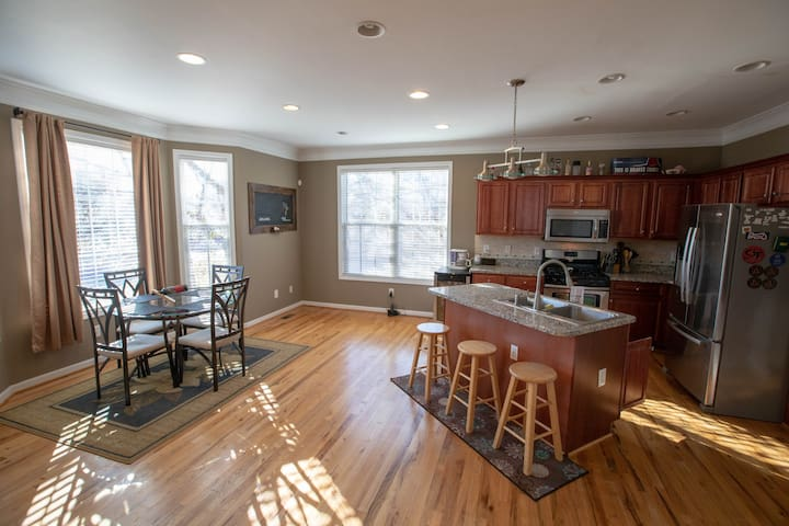 Central 1BR for DragonCon, Football Kickoff