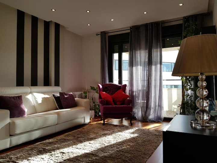 BEAUTIFUL AND BRIGHT APARTMENT IN LEON -MUSAC-