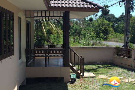 2 bedroom house in front of the beach - Casa