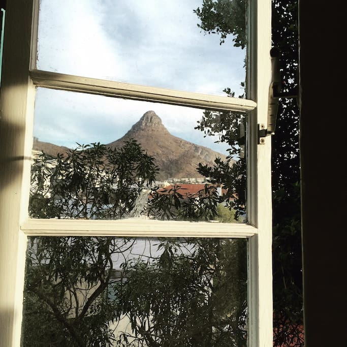 Lion's Head view from the bathroom