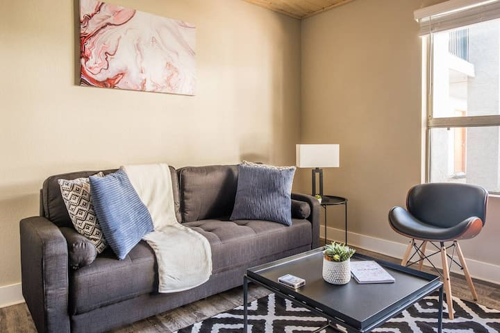 Contemporary 1BR Apt in the Historic District