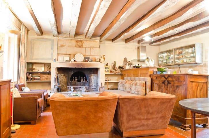Loire Valley cottage - Chenonceaux - Civray-de-Touraine - Hus