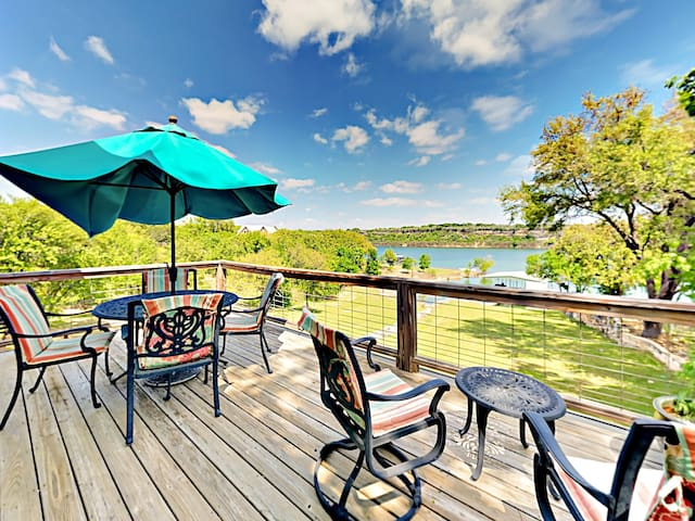 Lakefront Haven w/ Patio, Deck & Private Boat Dock