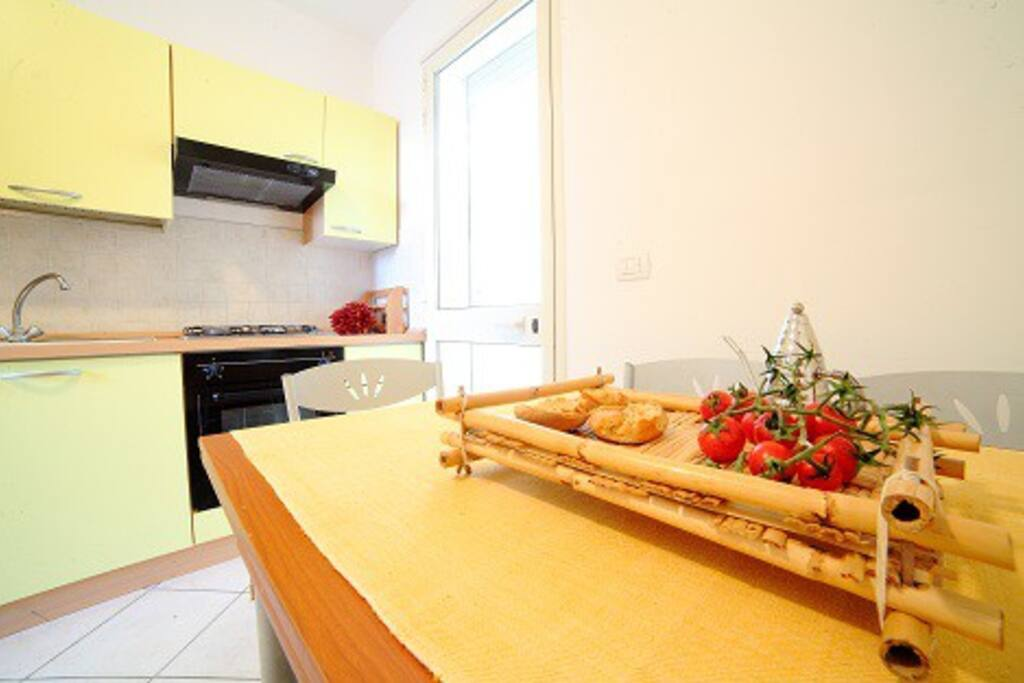 Cucina-angolo cottura