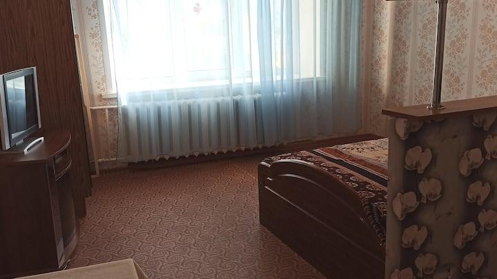 Просторная уютная квартира в хорошем районе