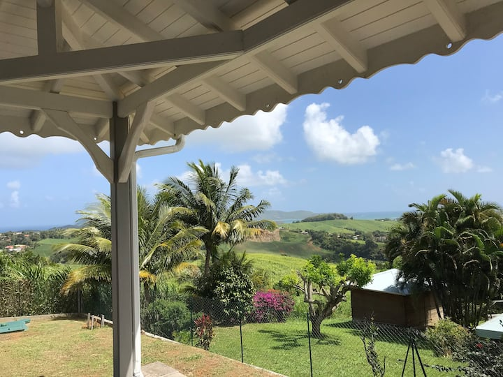 Villa Bwa Kannel **** vue mer