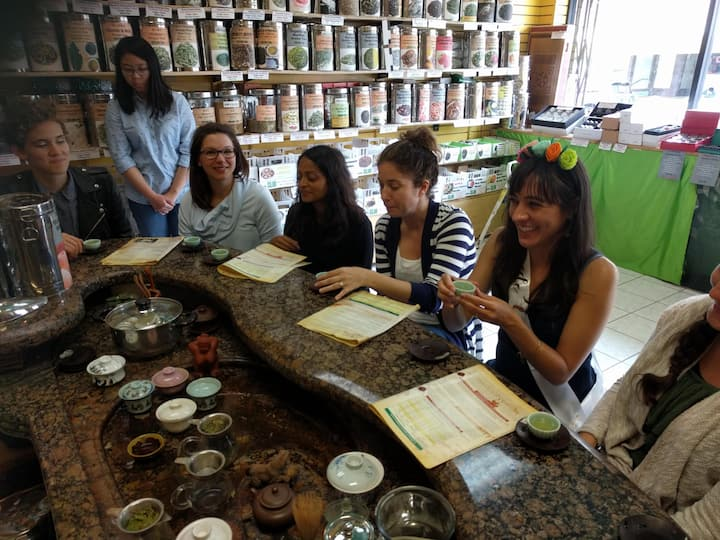 Tasting and learning all things tea.