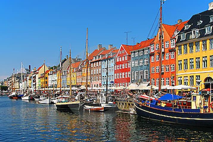 Sleep in Nyhavn in nice big room - Copenhague - Bed & Breakfast