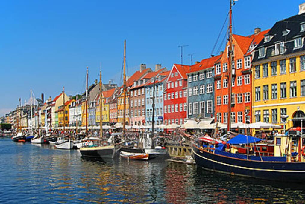 Sleep in nyhavn in nice big room bed breakfasts zur for Kopenhagen unterkunft