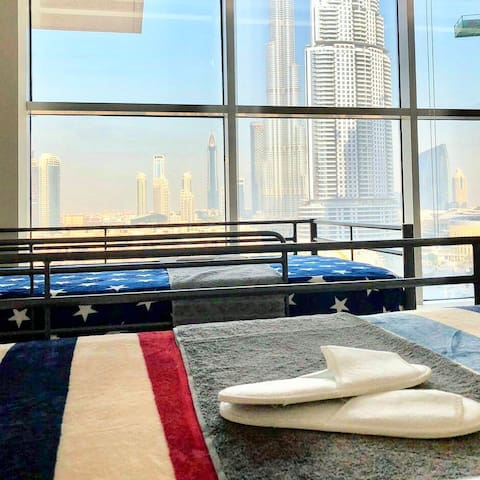 Stay in Downtown with Burj Khalifa view 4 *****