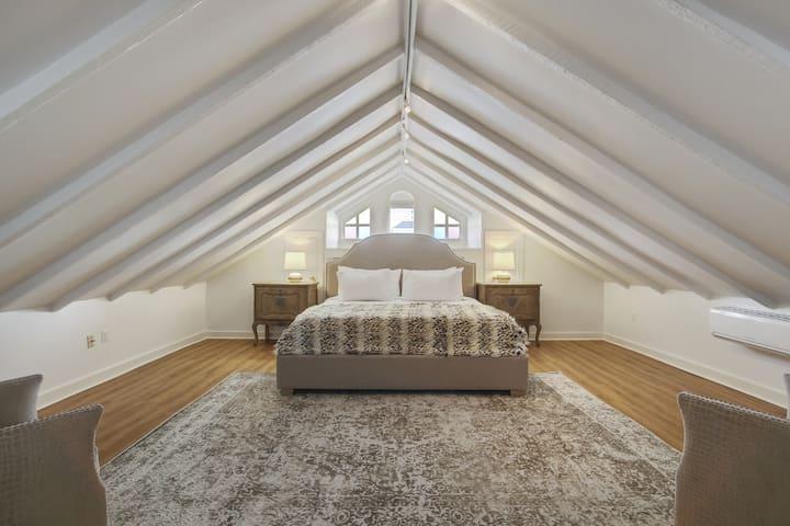 Luxury bedroom suite.
