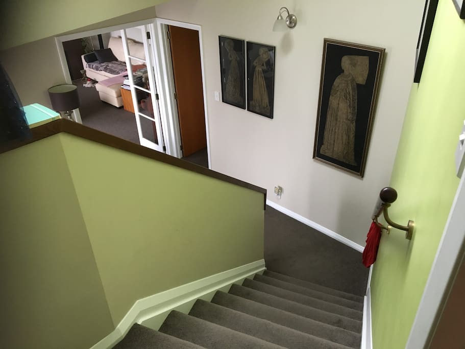 Downstairs from bedroom