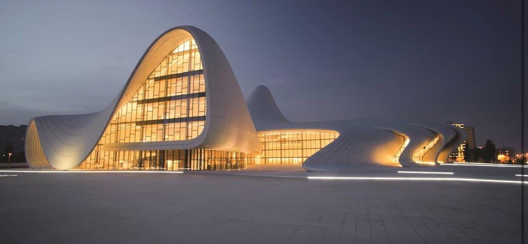 Apartment Haydar Aliyev culture centre