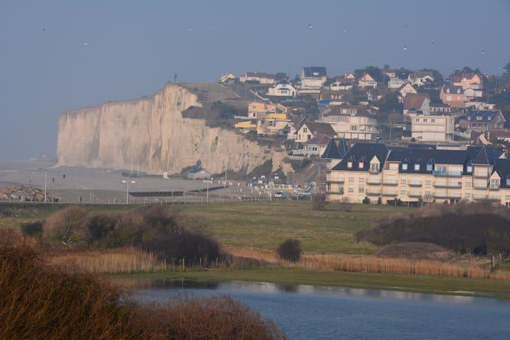 Appartement vue mer et falaise - Criel-sur-Mer