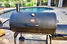 Char-Griller Championship Edition Smoker Grill may be used for an additional $20 cleaning fee upon request.