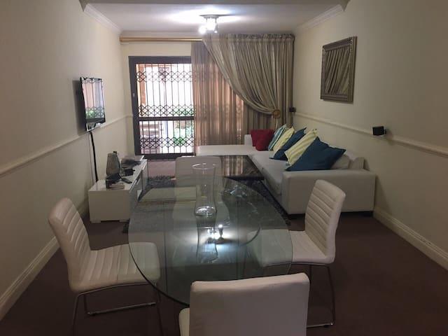 Luxury garden apartment