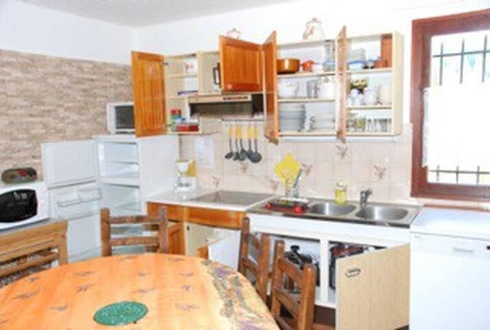 appartement rez de chaussée de chalet individuel - Beuil - Huoneisto