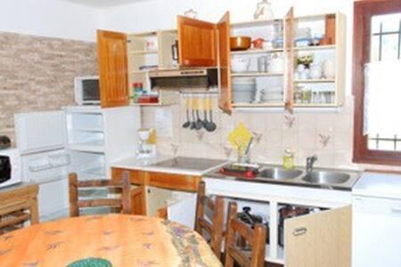 appartement rez de chaussée de chalet individuel - Beuil - Apartment