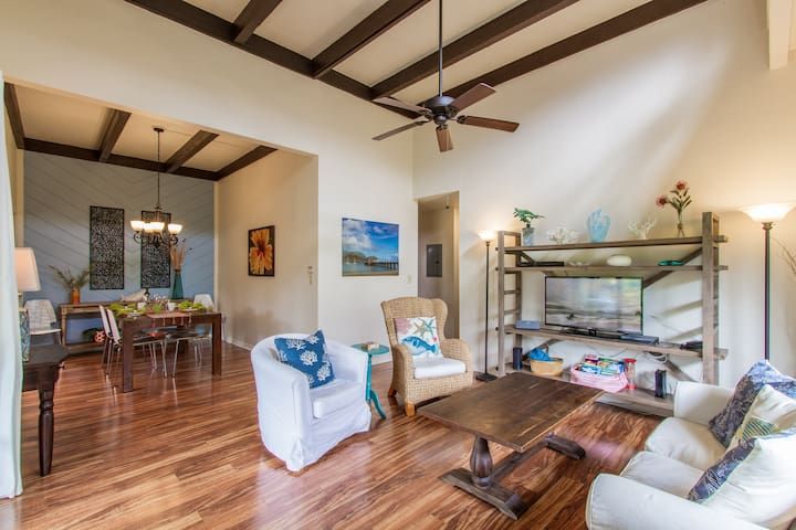 Princeville Retreat, Peaceful, Clean, & Spacious