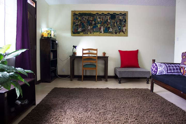 Shared space: The living room