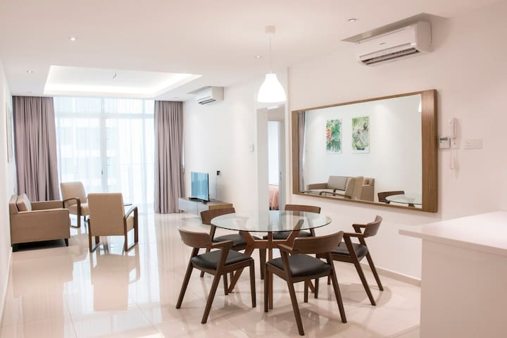 SPACE Unit B; 3 bedroom condo opposite SPICE - Bayan Lepas - Wohnung