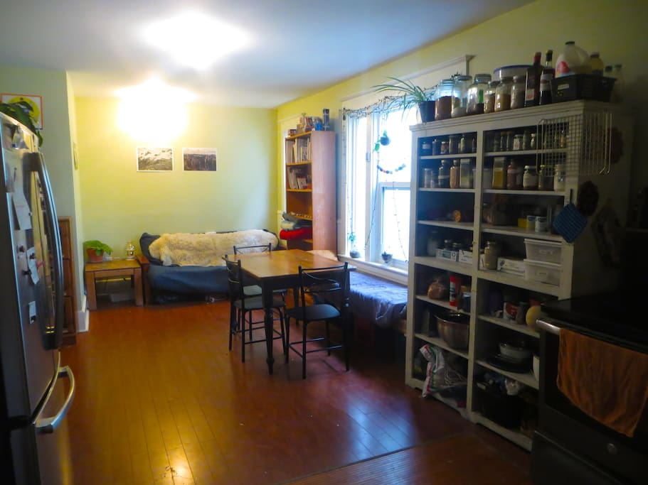 Common space kitchen/living room