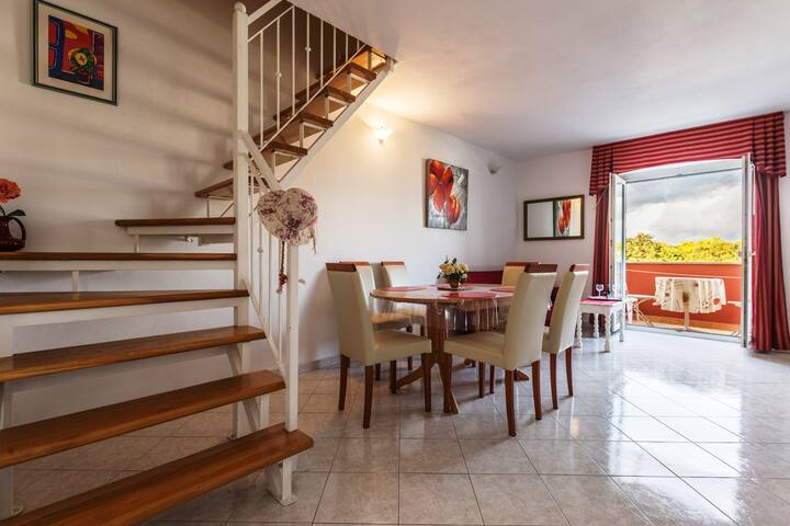 Apartment A6 - Funtana - Dormitorio para invitados