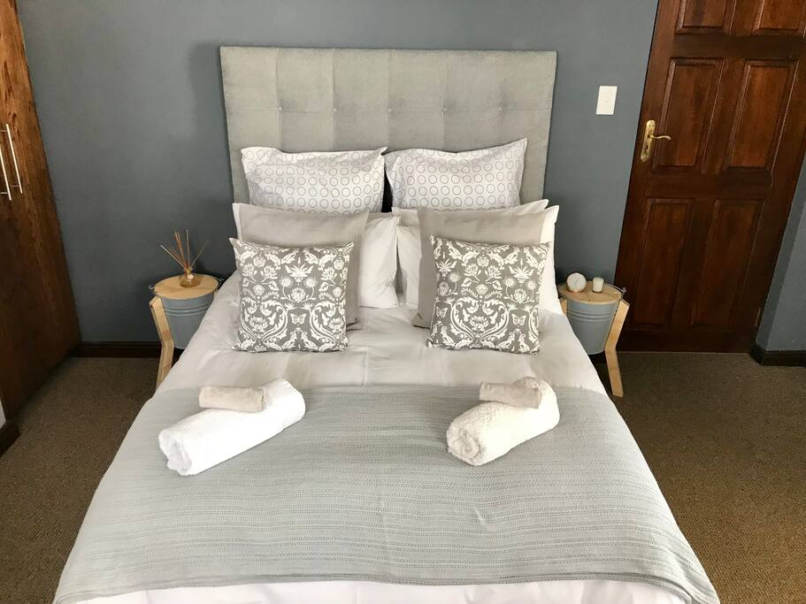 Downstairs - double bed