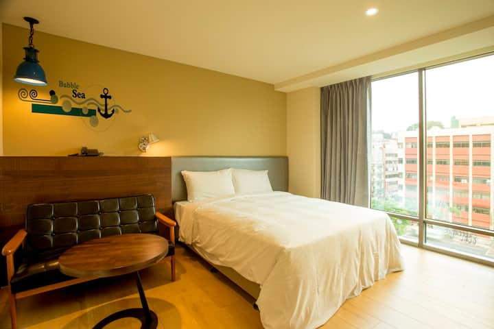 Superior Double Room | Keelung Train Station 7 min
