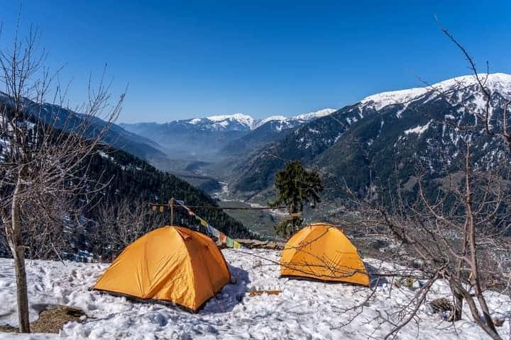 Camps for 4 at Hampta Valley 8500 Feet in Manali