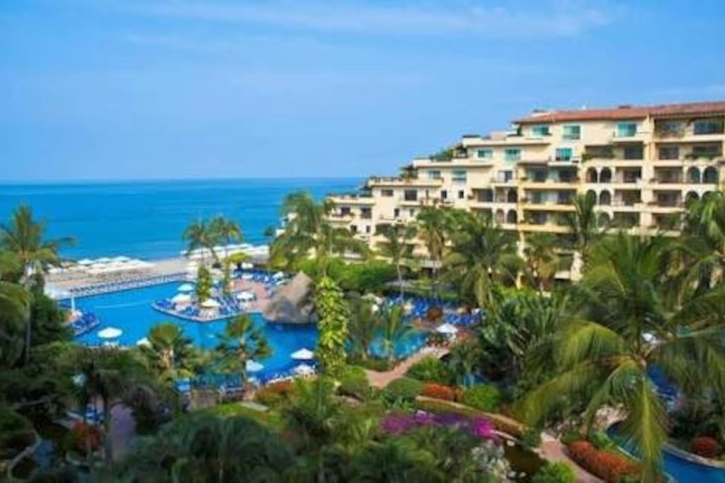 VISTA del Velas Resort Marina Vallarta.