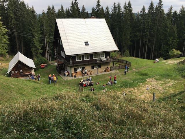 Ubytování v Horském ateliéru - Hutisko-Solanec - Chalé