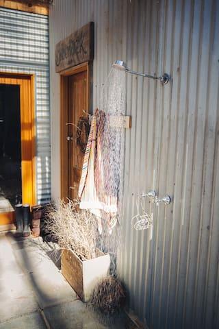 Out door shower