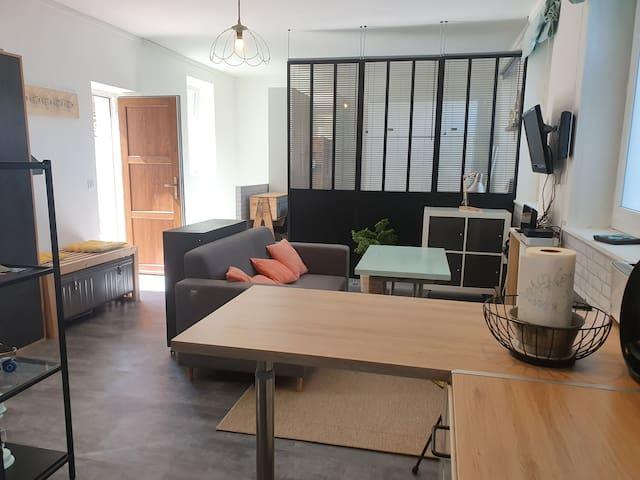 Appartement avec cour