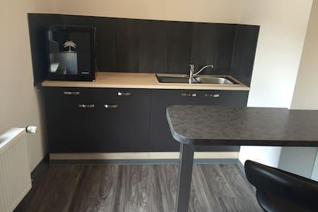 Nähe Frankfurt, super schönes 1-Zimmer-Apartment für zwei Personen - Wohnung