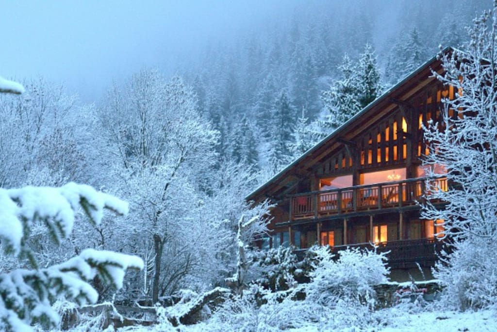 Winter at Chalet Cannelle