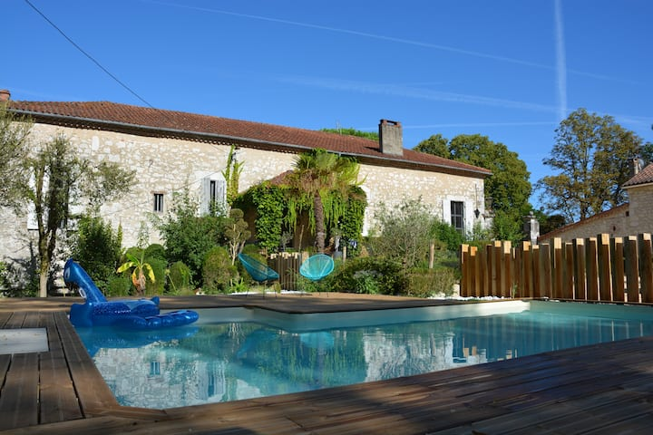 Villa d'exception piscine privée et parc