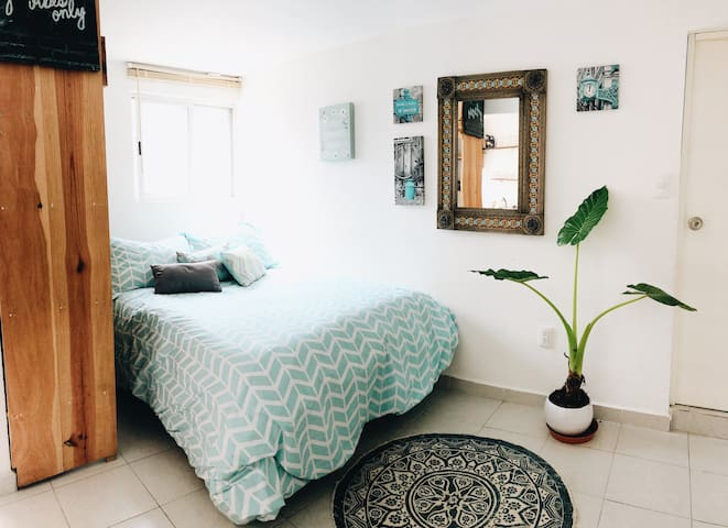 Cozy Studio near Condesa with nice Terrace
