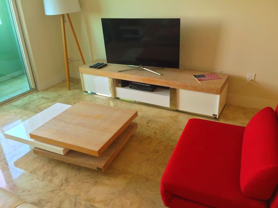 Sala de estar del apartamento. Appartments living room