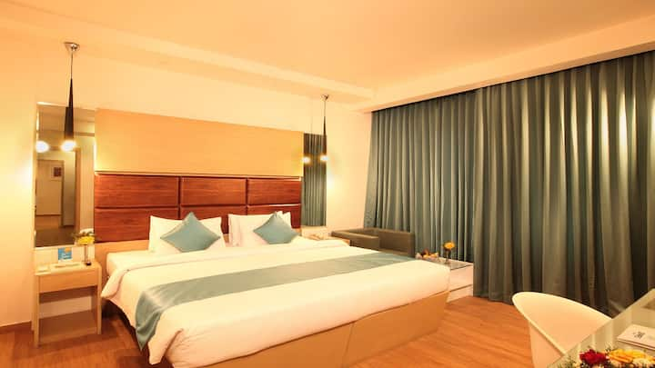 The Dunes Cochin -Deluxe room Off  M G Road Cochin