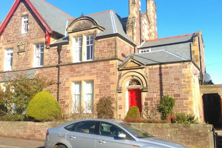 Seaside flat 30 mins to Edinburgh - 一軒家