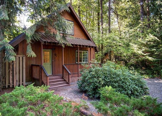 River White House-on Sandy River-Hot Tub-Wifi - Rhododendron