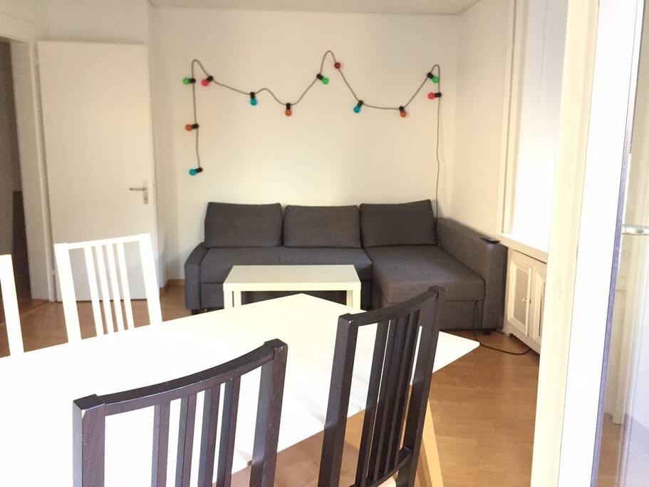 Living Room + 2nd Sleeping Room