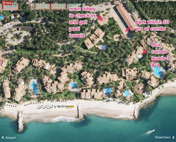 Sleeps 9 Adults! On the Beach 7 Pools