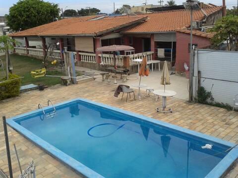chácara com piscina dentro cidade mogi mirim