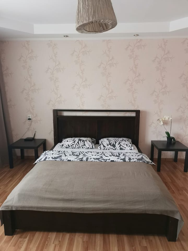 Чистая уютная квартира в районе вокзала.