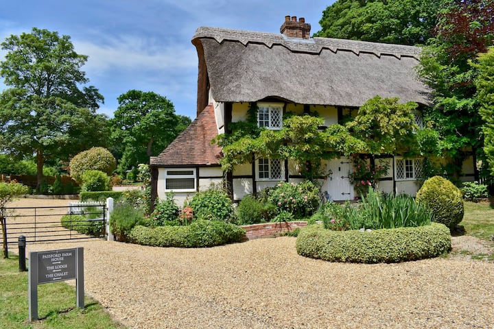 The Thatched Cottage, Passford Farm, Lymington .