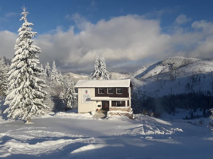 Bývanie v Domčeku Horskej služby