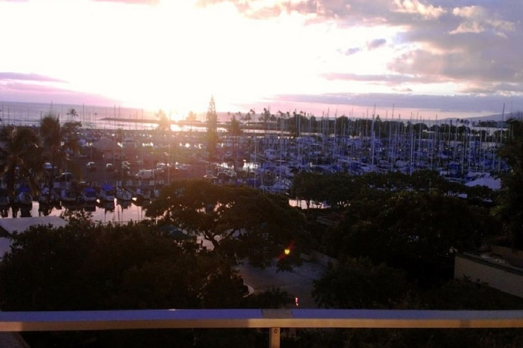 Sunset View from our balcony